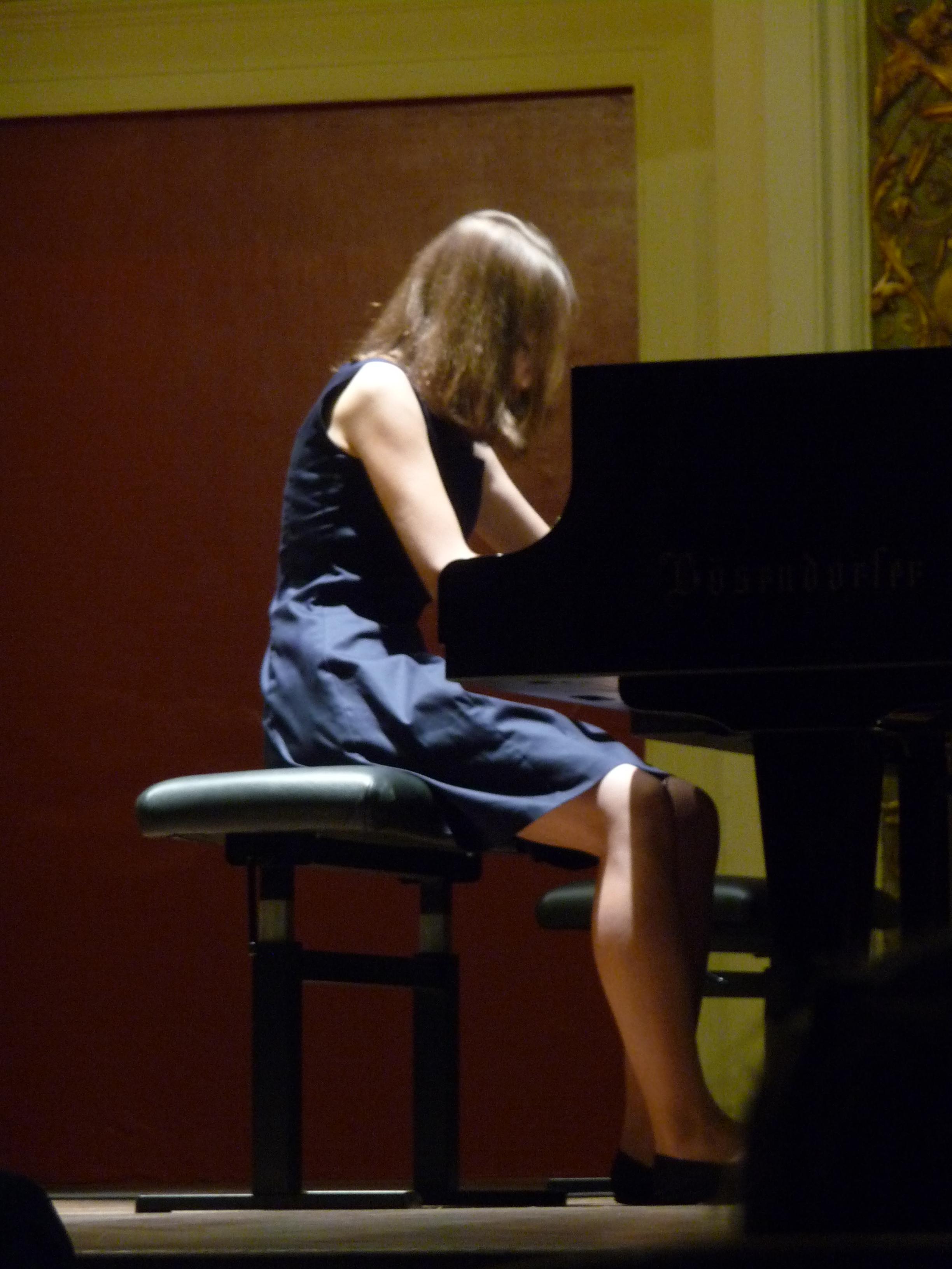 Janita-Madeleine Schulte plays Debussy a Ehrbar Hall Vienna